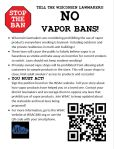 WSAC Petition Flyer