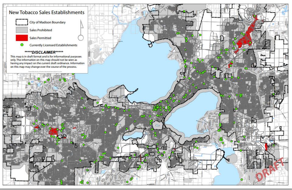 Madison Zoning Map